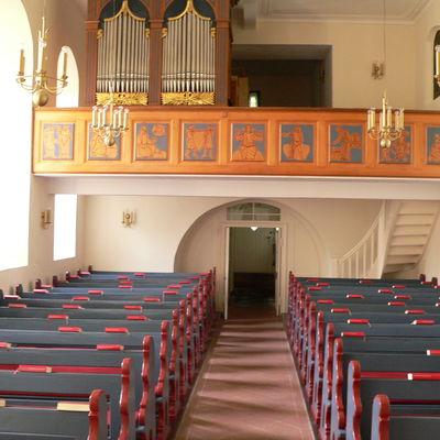 Zur Bildergalerie der evangelischen Kirche